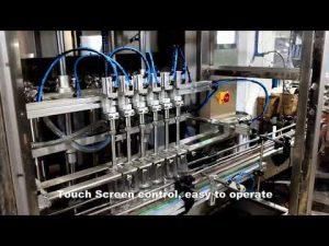 automatska linija za punjenje deterdženta s klorom od 6 glava, linija strojeva za punjenje tekućine