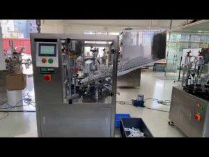 automatska mašina za brtvljenje plastične cijevi za zubnu pastu za ruke