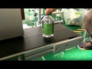 stroj za etiketiranje stolnih naljepnica za plastične boce s vodom