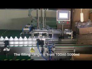 automatska mašina za punjenje servo šampona sa 2 mlaznica