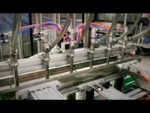 automatski stroj za klip linearni deterdžent, šampon, viskozna tekućina za punjenje ulja s mazivom
