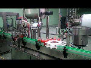 Stroj za automatsko punjenje i zatvaranje pekmeza od 4 glave