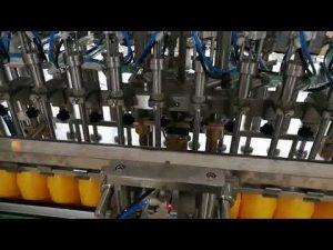 Automatski stroj za punjenje boca od 12 glava za kozmetički umak od kečapa ulja