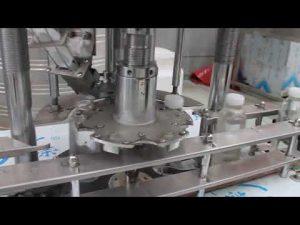 automatski stroj s rotacijskim zatvaračem od plastične boce s jednom glavom