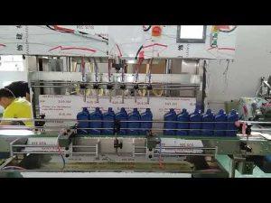 Kina automatski stroj za punjenje motornim uljem od 5000 ml za automobilsku industriju