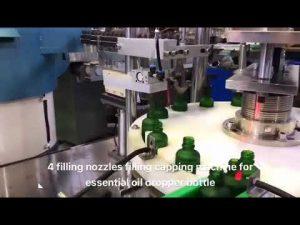 bočica kapalica eterično ulje cbd stroj za punjenje ulja