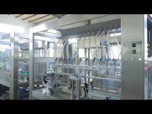 tvornička automatska stroj za punjenje staklenih ulja s linearnim viskoznim tekućinama
